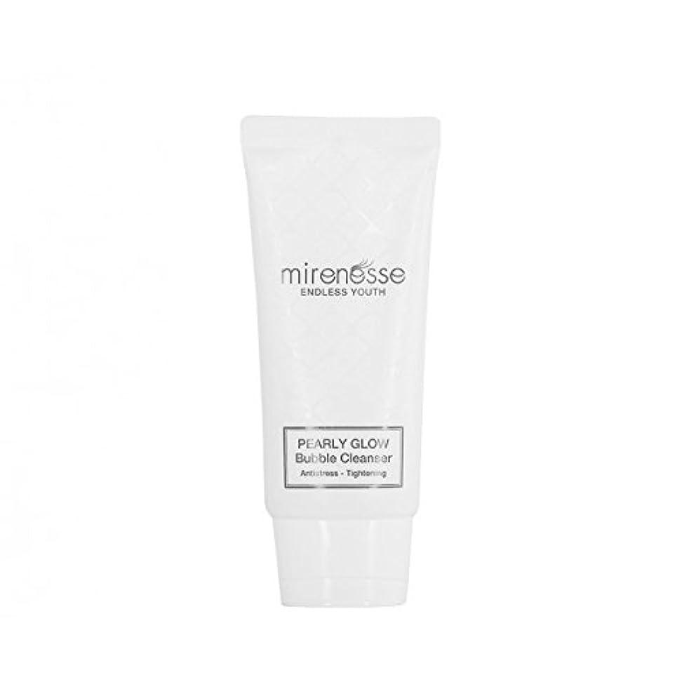 ブランチ伝統的力Mirenesse Cosmetics Endless Youth Pearly Bubble & Glow PH Cleanser