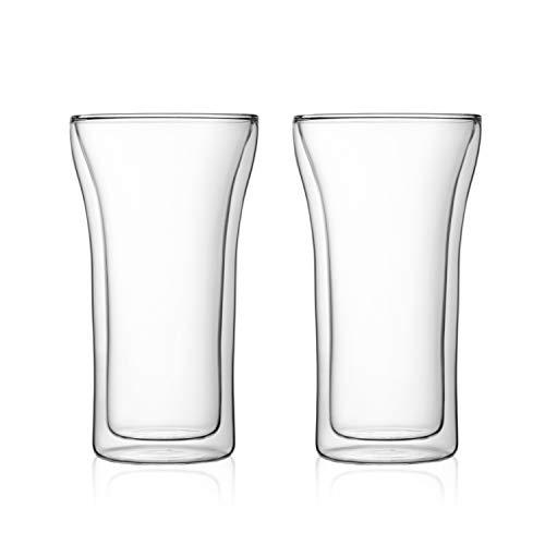 アッサム ダブルウォールグラス 0.4L(2個セット) 4547-10