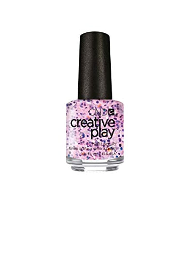 考古学的な交換可能悪意のあるCND Creative Play Lacquer - Flash-ion Forward - 0.46oz / 13.6ml