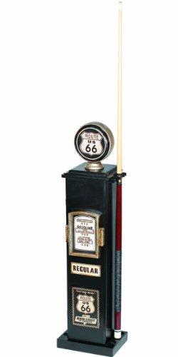 RAM Gameroom製品40-inchルート66TexacoガスポンプCDと6キューホルダー