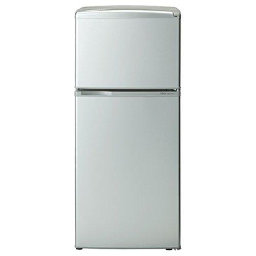アクア 109L 2ドア冷蔵庫(直冷式)アーバンシルバーAQUA AQR-111D-S