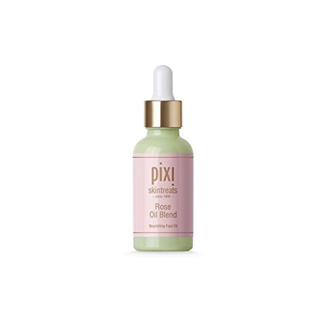 船員効率的にミリメートルは、油ブレンドをバラ x4 - Pixi Rose Oil Blend (Pack of 4) [並行輸入品]