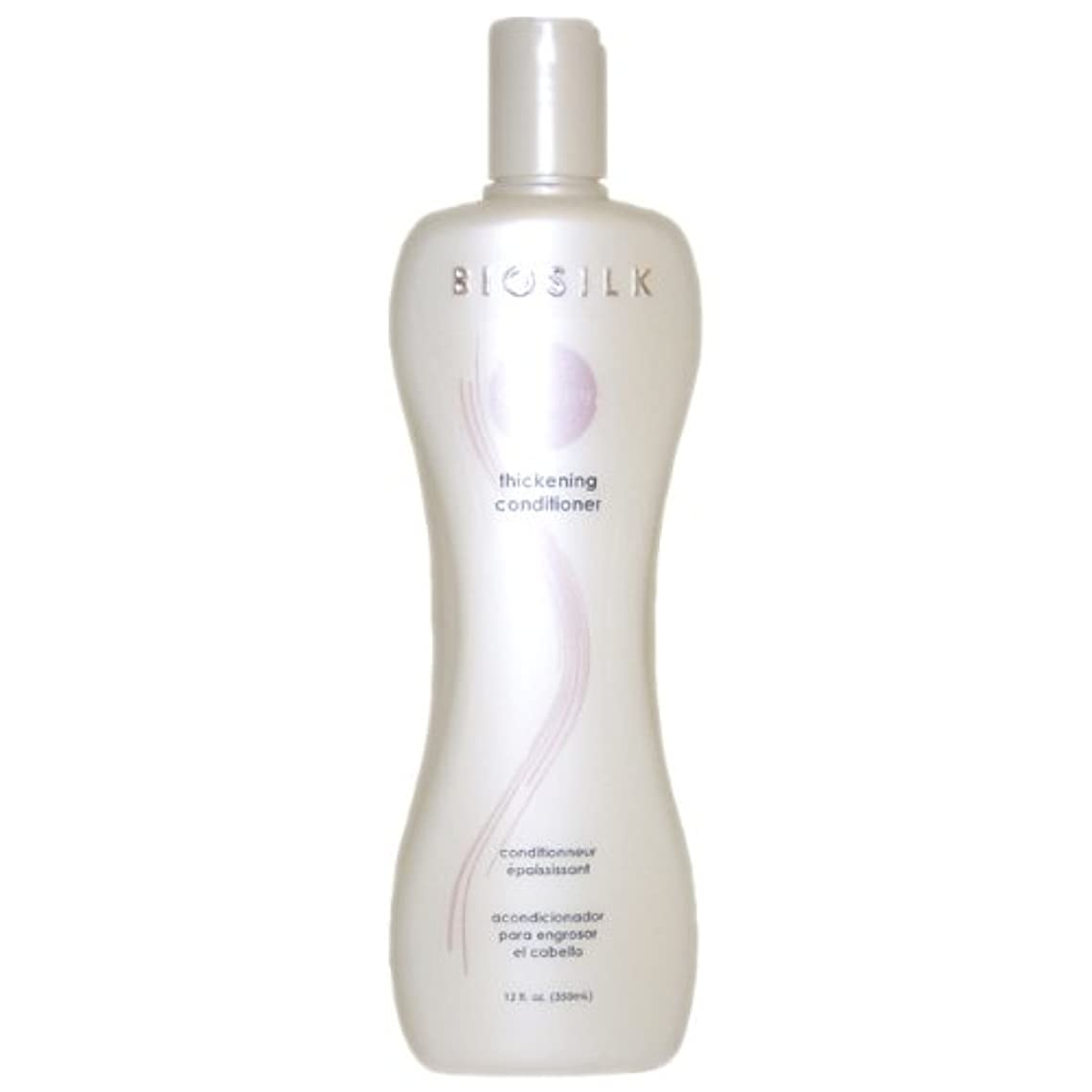 鼻医薬ワイドBiosilk Thickening Conditioner 350 ml (12 oz.) (並行輸入品)
