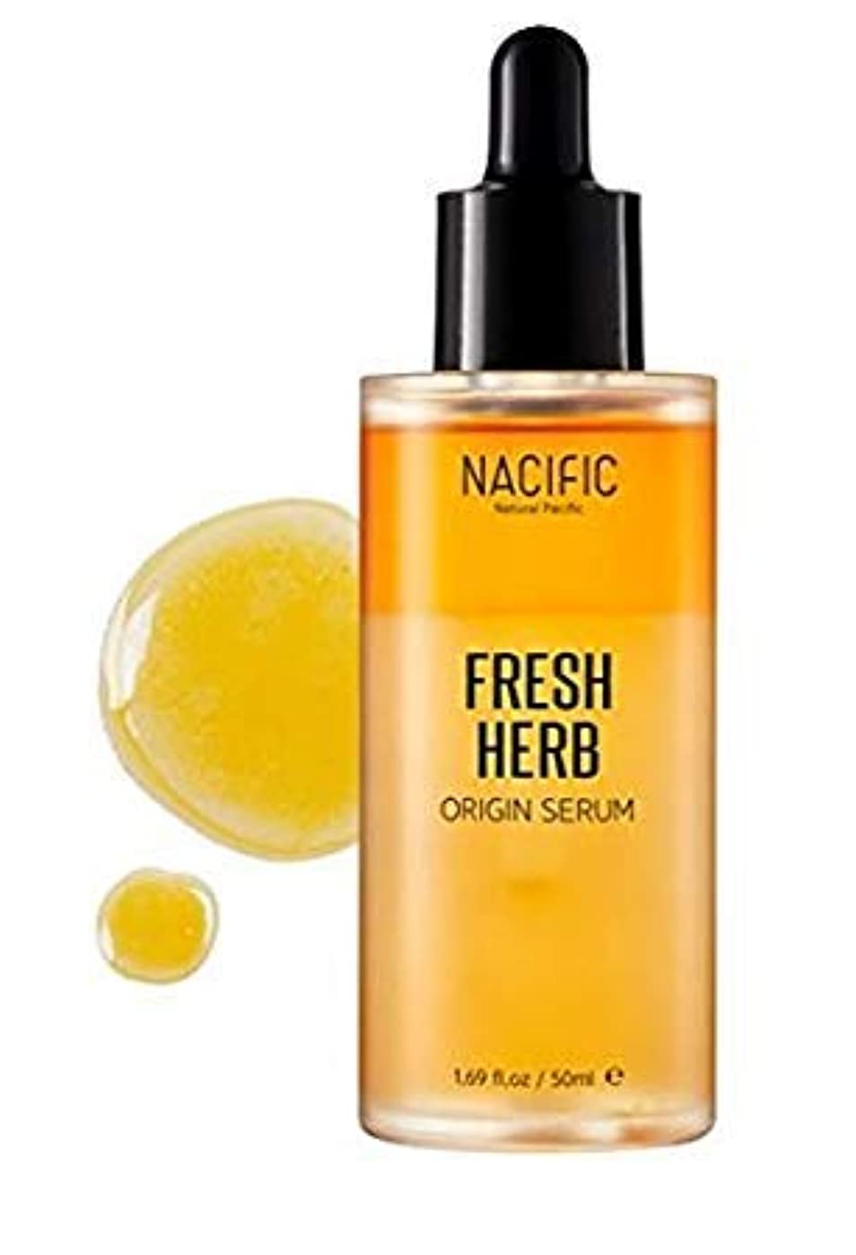 ステンレス凝視レイプ[NACIFIC]Fresh Herb Origin Serum 50ml/ナチュラルパシフィック フレッシュ ハーブ オリジン セラム 50ml [並行輸入品]