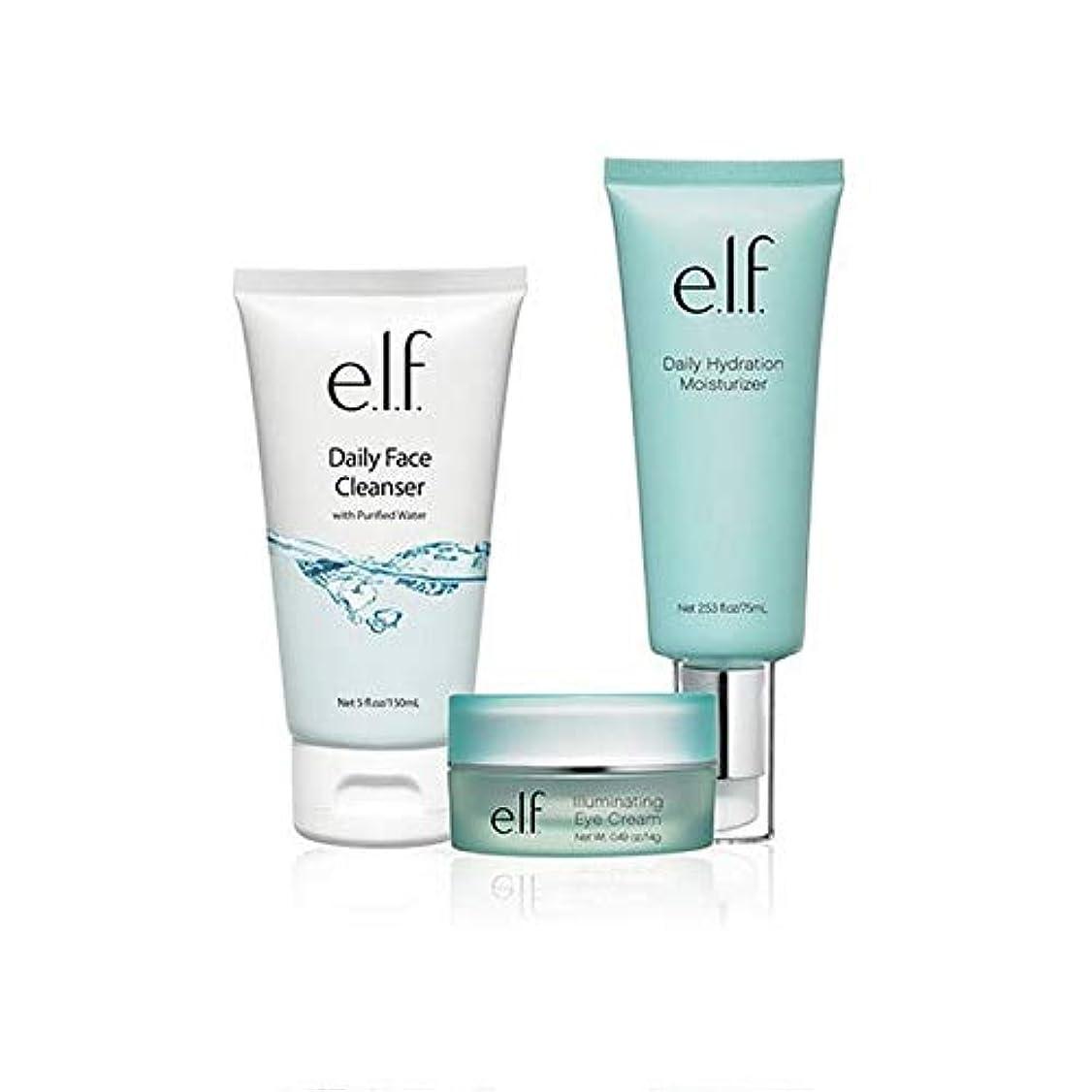 愛国的な雑多な便利[Elf] エルフ。フェイシャルスキンケアセット - e.l.f. Facial Skincare Set [並行輸入品]