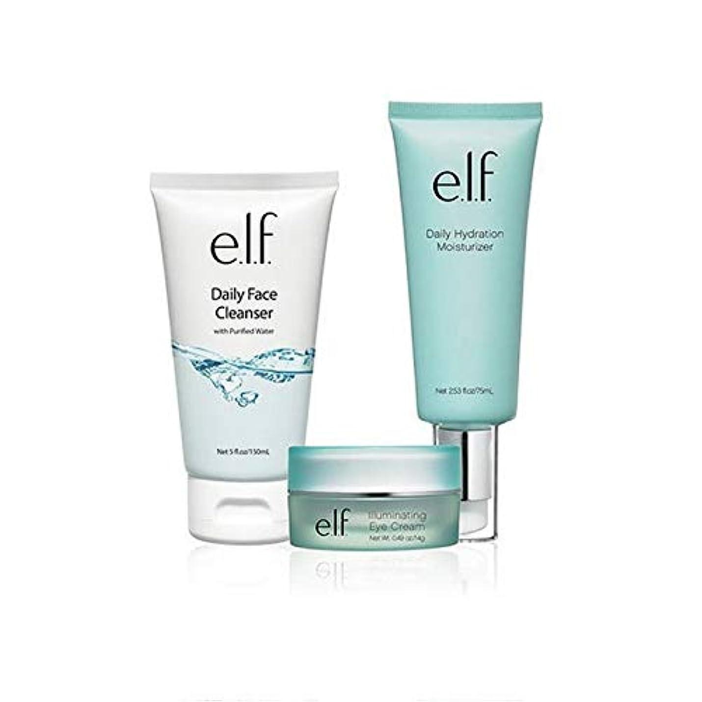 学んだ異形表示[Elf] エルフ。フェイシャルスキンケアセット - e.l.f. Facial Skincare Set [並行輸入品]