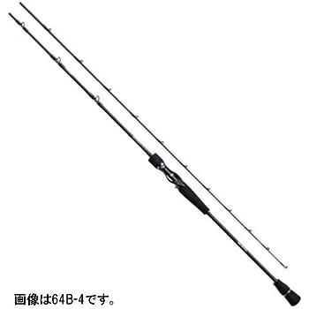 ダイワ(DAIWA) ライトショアジギングロッド ベイト ソルティガ ベイジギング AGS 64B-4 ライトショアジギング 釣り竿