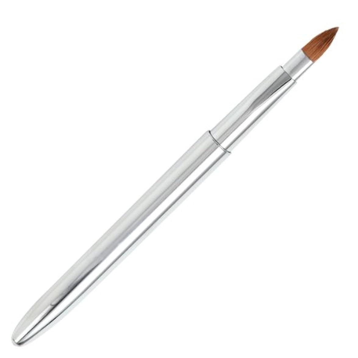 見捨てられた許可請う広島熊野筆 オートリップブラシ 毛質 イタチ L-2