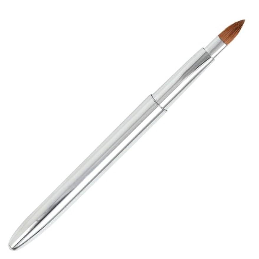 ウェイド適用済み煙広島熊野筆 オートリップブラシ 毛質 イタチ L-2