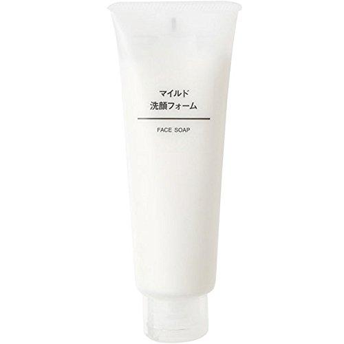 無印良品 マイルド洗顔フォーム 120g