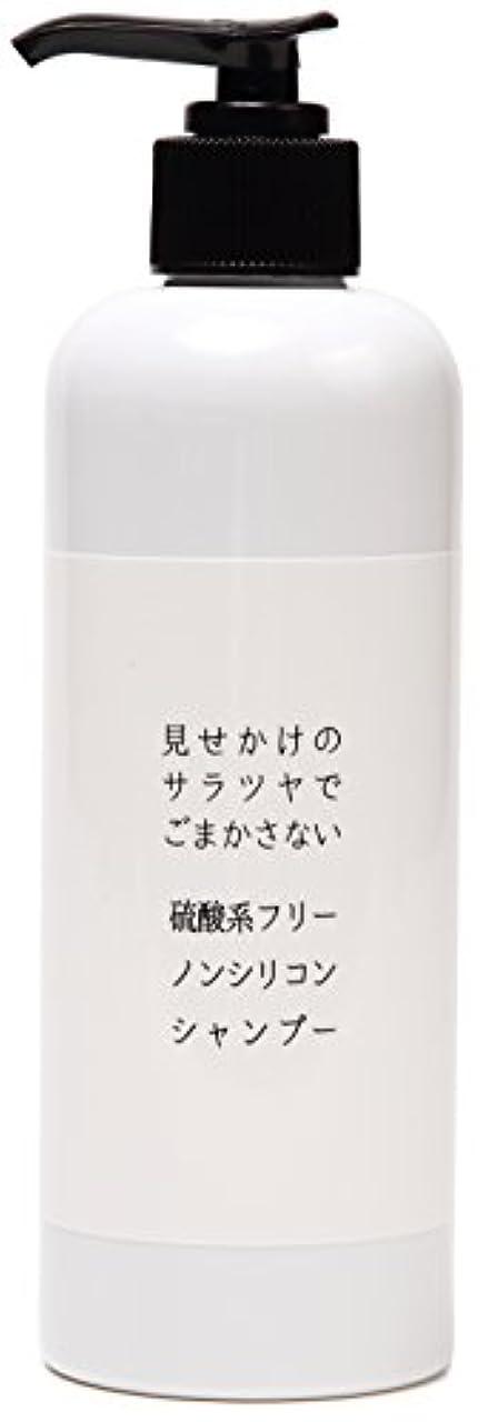 石鹸知り合いになる学習者見せかけのサラツヤでごまかさない 硫酸系フリーノンシリコンシャンプー 300ml