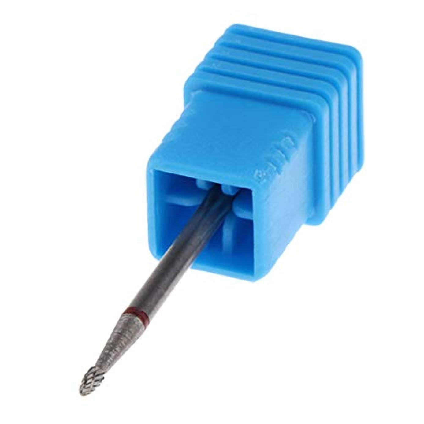 不足トン疎外するgazechimp 5サイズ選択 マニキュアツール ネイルドリルビット ネイル研削ビット研磨ヘッド - No.01