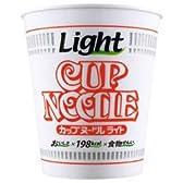 日清食品 カップヌードルライト(198kcal) 53g ×12個