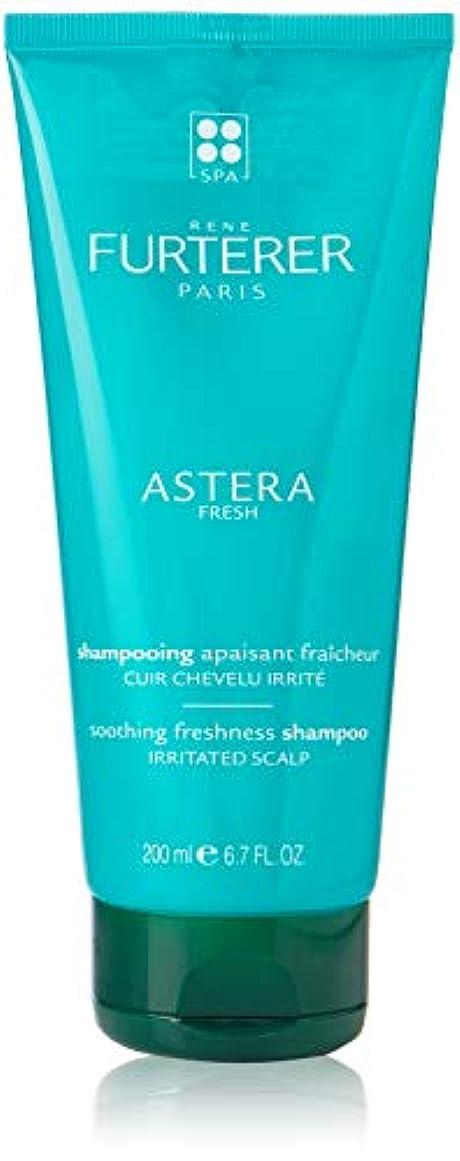 朝の体操をする警官補充ルネフルトレール Astera Soothing Freshness Shampoo (For Irritated Scalp) 200ml [海外直送品]