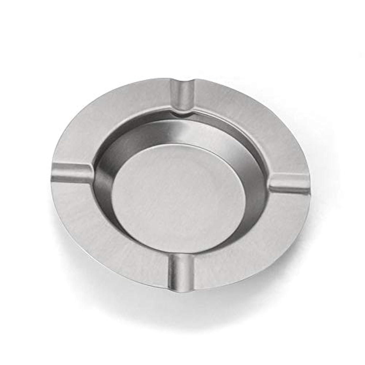 きょうだい部マーベル灰皿、新しさのステンレス鋼の現代卓上灰皿、屋内または屋外での使用のためのタバコの灰皿、喫煙者のための灰ホルダー、ホームオフィスの装飾のためのデスクトップの喫煙灰皿