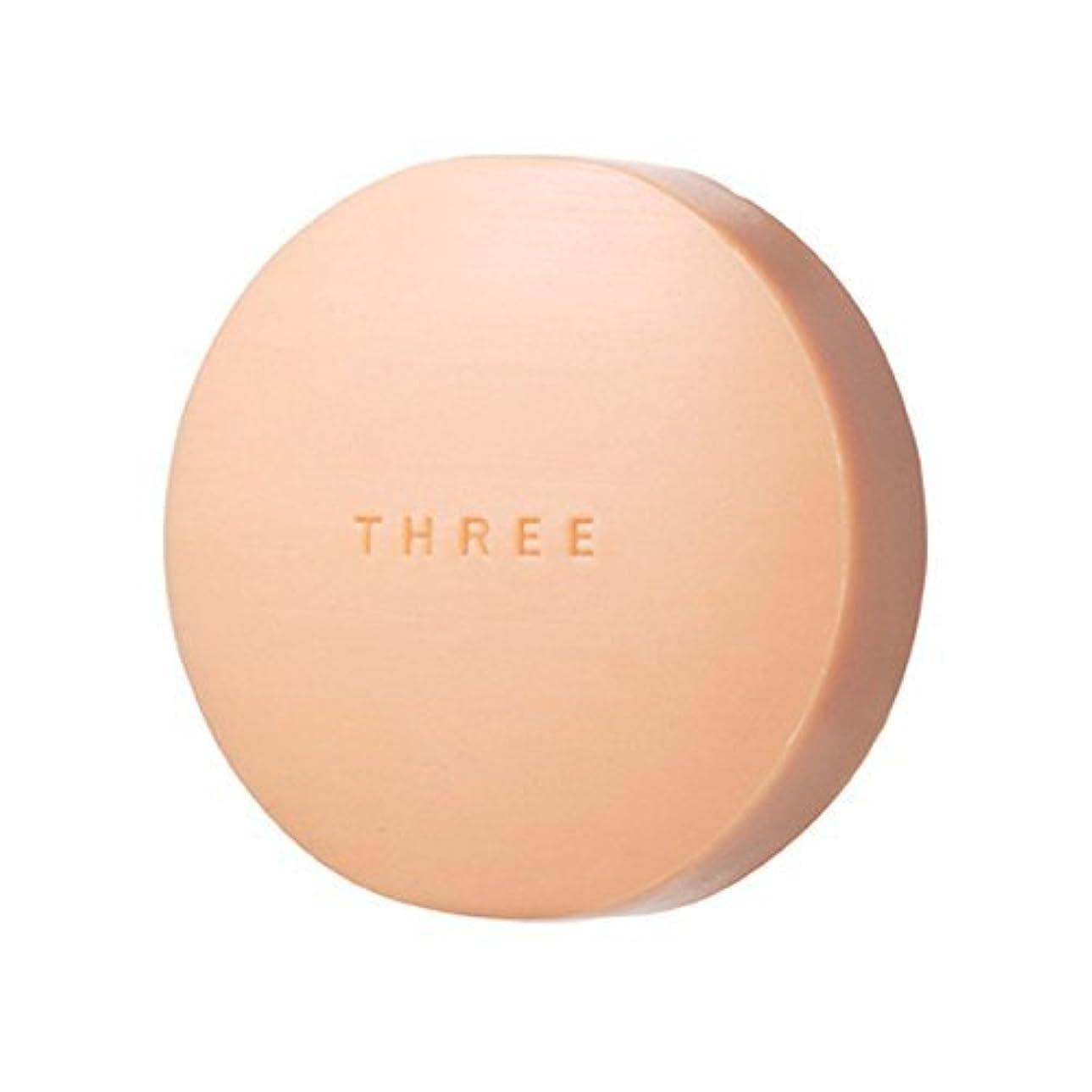 ランプ寛大さ百科事典THREE(スリー) THREE エミング ソープ 80g