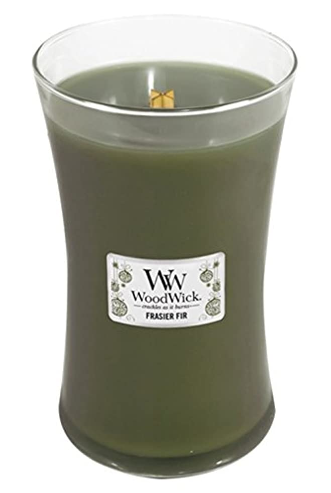 遠足免疫するWoodWick Candle, Large Frasier Fir