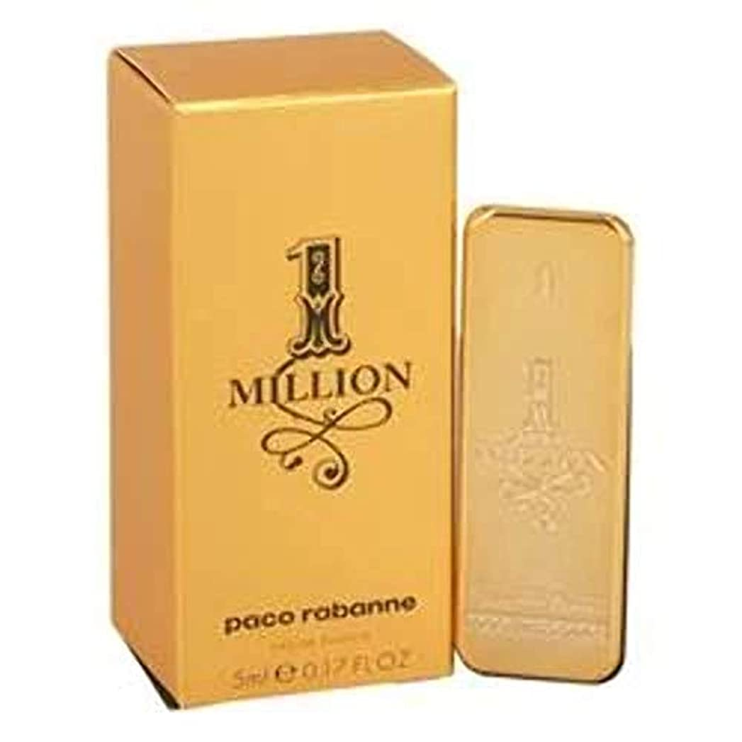 可動式レタス肌寒いパコラバンヌ ワンミリオン EDT 5ml ミニ香水(並行輸入品)