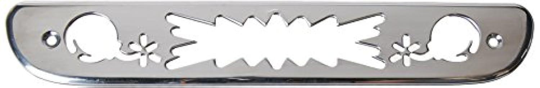 AMI 54011P爆弾スタイルビレットサードブレーキライトカバー - ポリッシュ