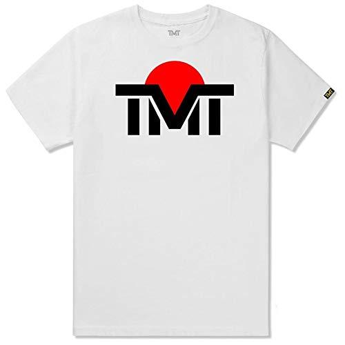 (ザ・マネーチーム) THE MONEY TEAM TMT 正規輸入品 tmt-ms121-2wc ザ・マネーチーム TシャツTMT JAPNA 白ベース×黒ロゴ フロイド・メイウェザー ボクシング 男性 メンズ