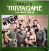 MASH Golden Trivia Game