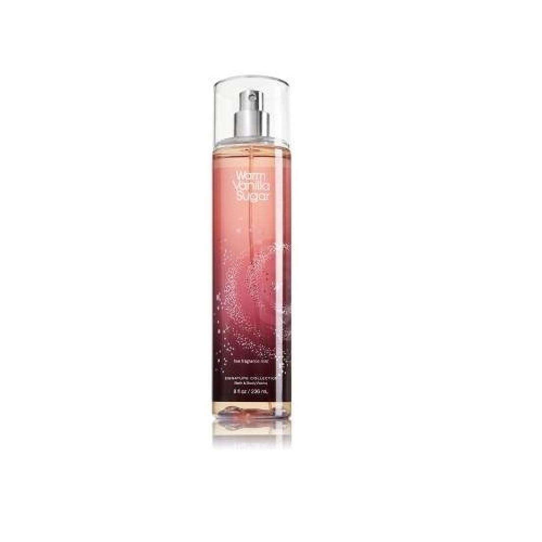 アリス日の出力学Bath & Body Works ウォームバニラシュガー フレグランスミスト warm vanilla sugar Fragrance Mist[並行輸入品]