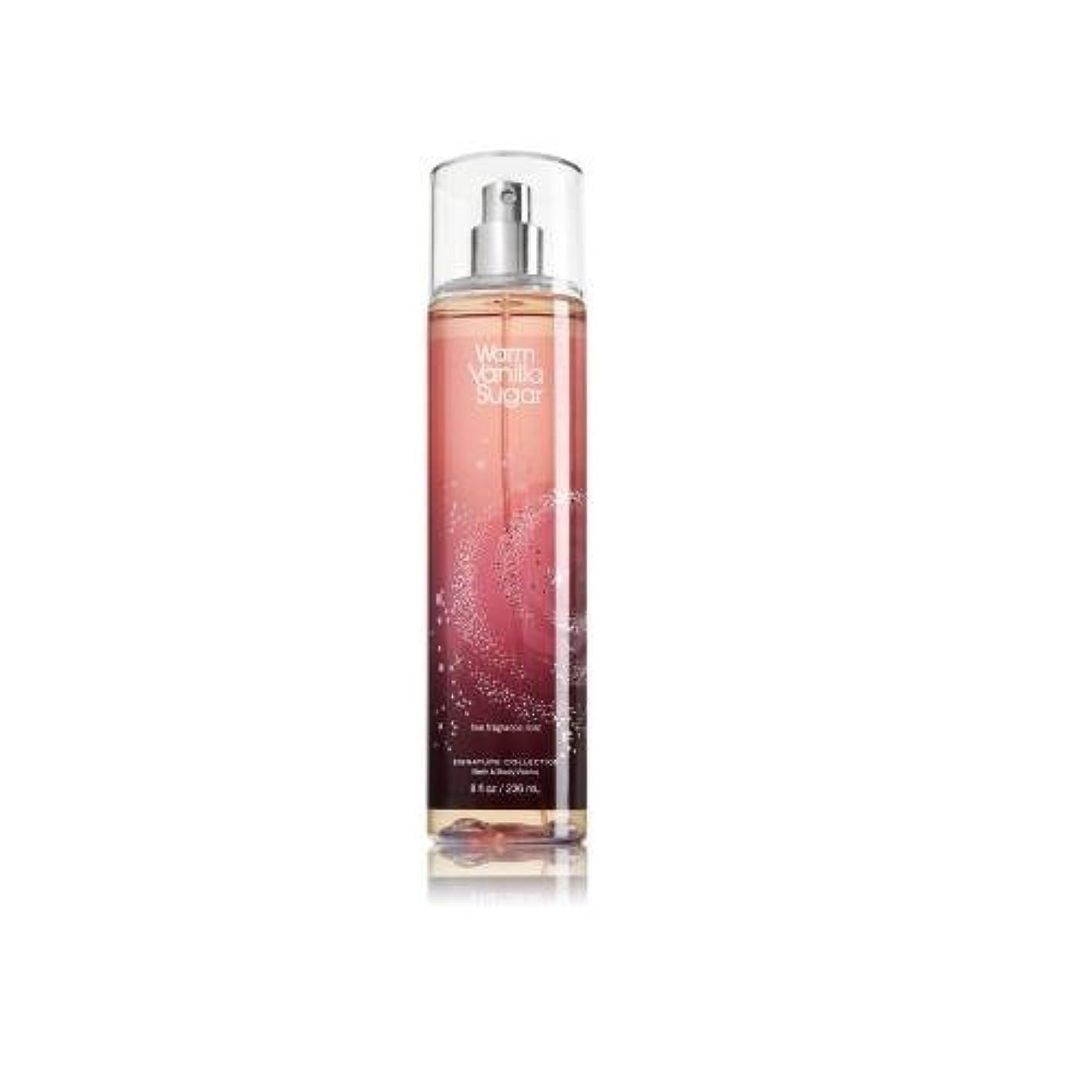 ラッシュ発見コットンBath & Body Works ウォームバニラシュガー フレグランスミスト warm vanilla sugar Fragrance Mist[並行輸入品]