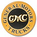 GMC Trucks★ジーエムシートラック★ラウンド★アメリカンブリキ看板