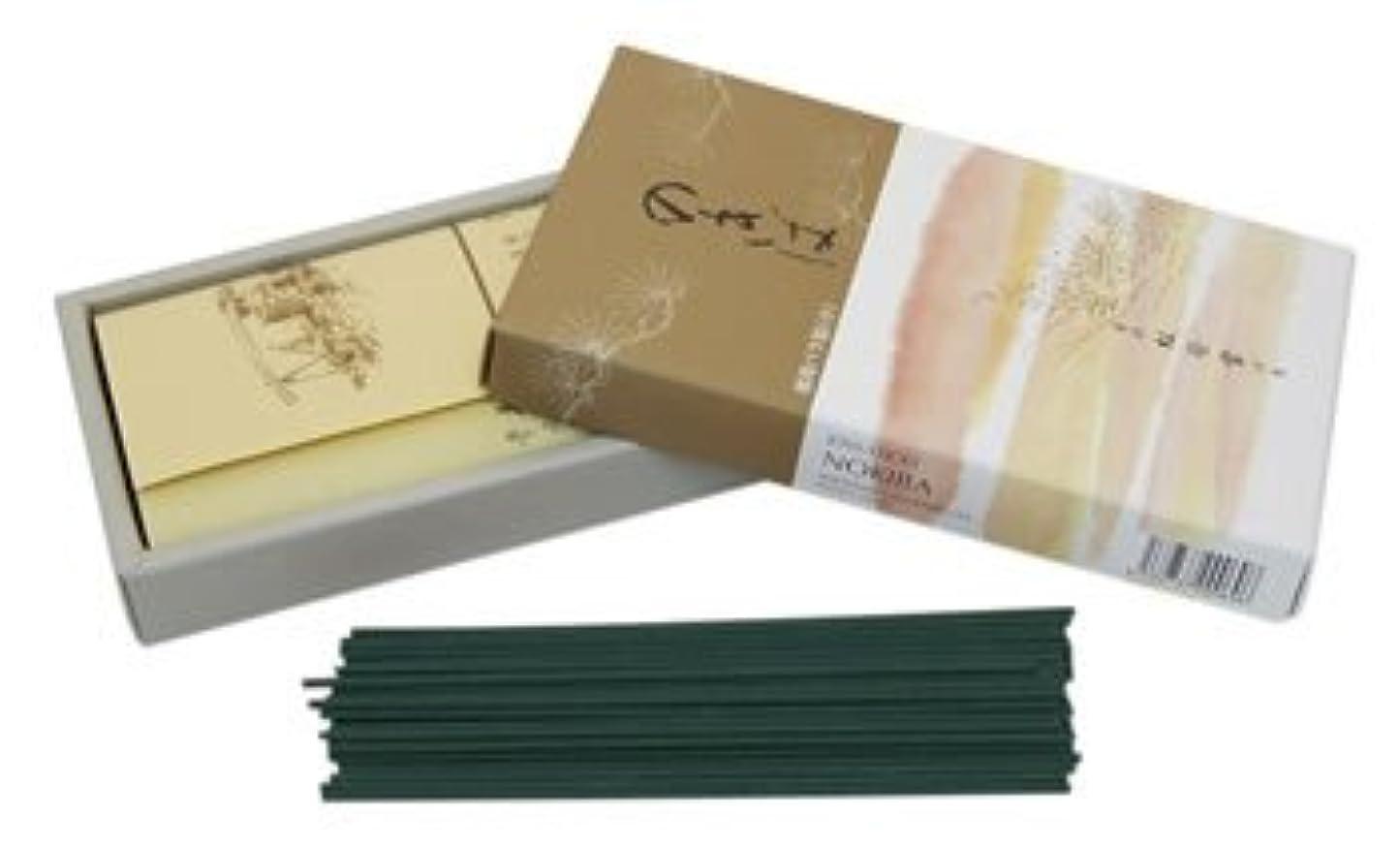 突き刺すもつれ四回Moss Garden (Nokiba) With Sandalwood - Shoyeido Classic Japanese Incense - Box of 250 Sticks