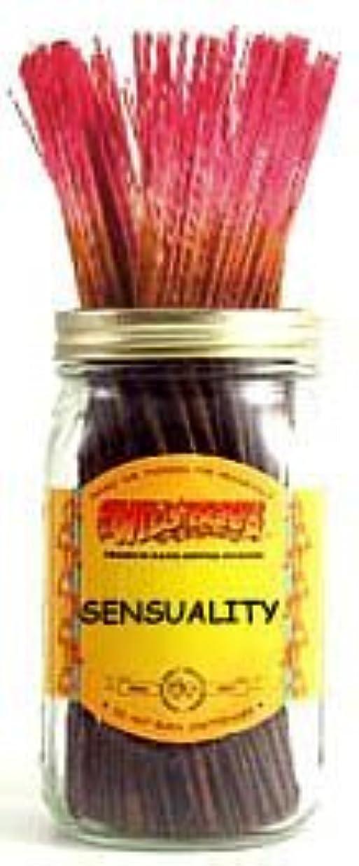適合かんたん同時Sensuality - 100 Wildberry Incense Sticks [並行輸入品]