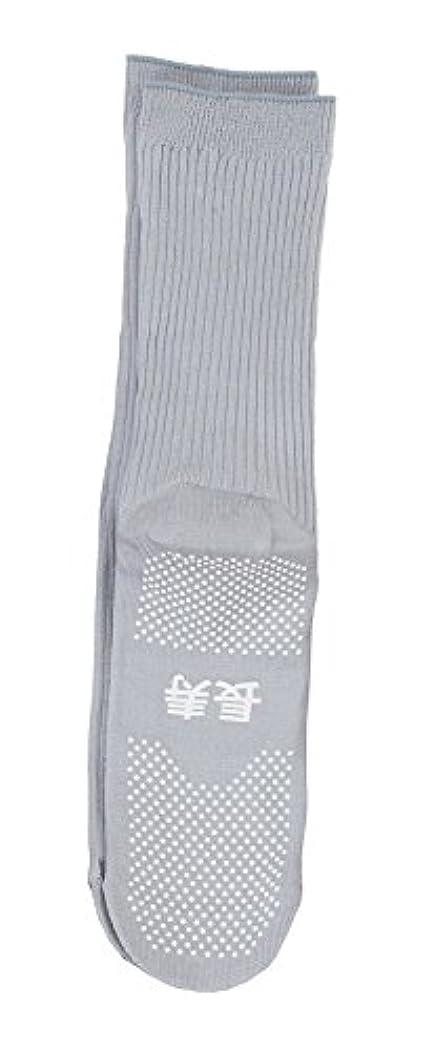 精度アルミニウムニコチン神戸生絲 すべり止め靴下( 長寿