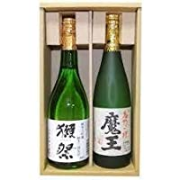 人気銘酒「獺祭 純米大吟醸 磨き50 芋焼酎 魔王 720ml×2本」720ml×2本 日本酒飲み比べセット