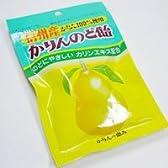 オレンジゼリー本舗 かりんのど飴 花梨 マルメロ エキス入り 100g×15袋 袋入り