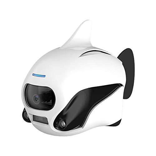 ROBOSEA ビキ BIKI_W 白 水中ドローン 魚型 4Kカメラ