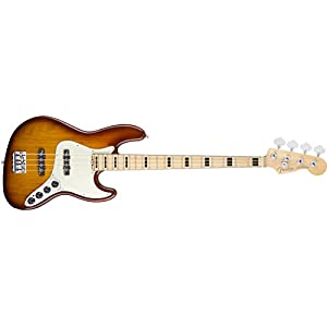 Fender フェンダー エレキベース AM ELITE JAZZ BASS ASH MN TBS