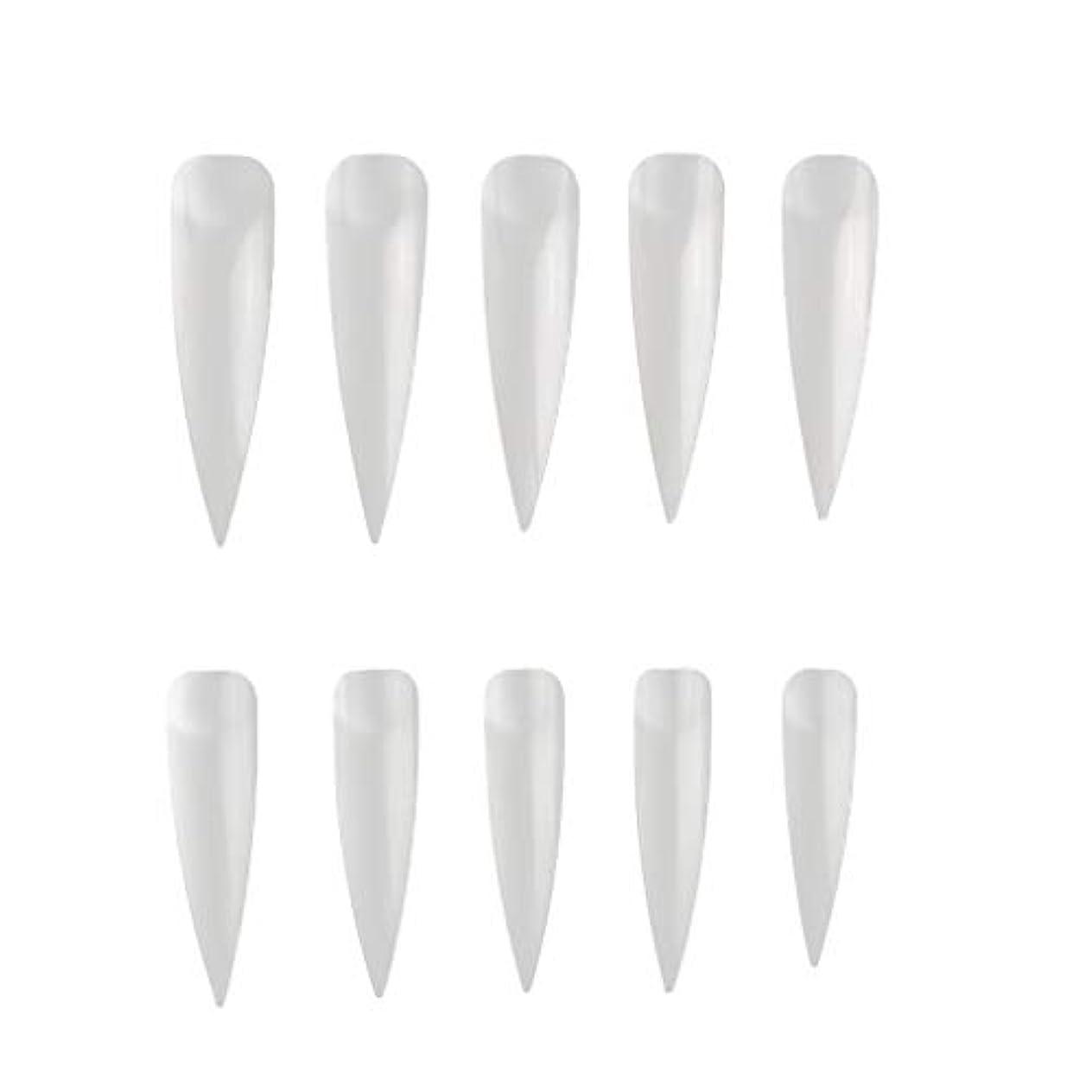 コミットメント拮抗歯科のLazayyii ネイルピース サインピース 製品 500錠 (ベージュ)