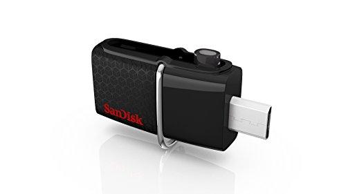 SanDisk ウルトラ デュアルUSBドライブ3.0 Androidスマートフォン用USBメモリー] 16GB SDDD2-016G-J35