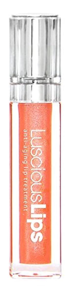 含むホイールバクテリアラシャスリップス LusciousLips リップ美容液 7ml (331 Socialites コーラル系 ゴールドパール)