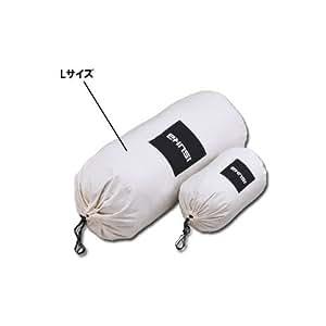 イスカ(ISUKA) コットン ストリージバッグ L 生成り 365500