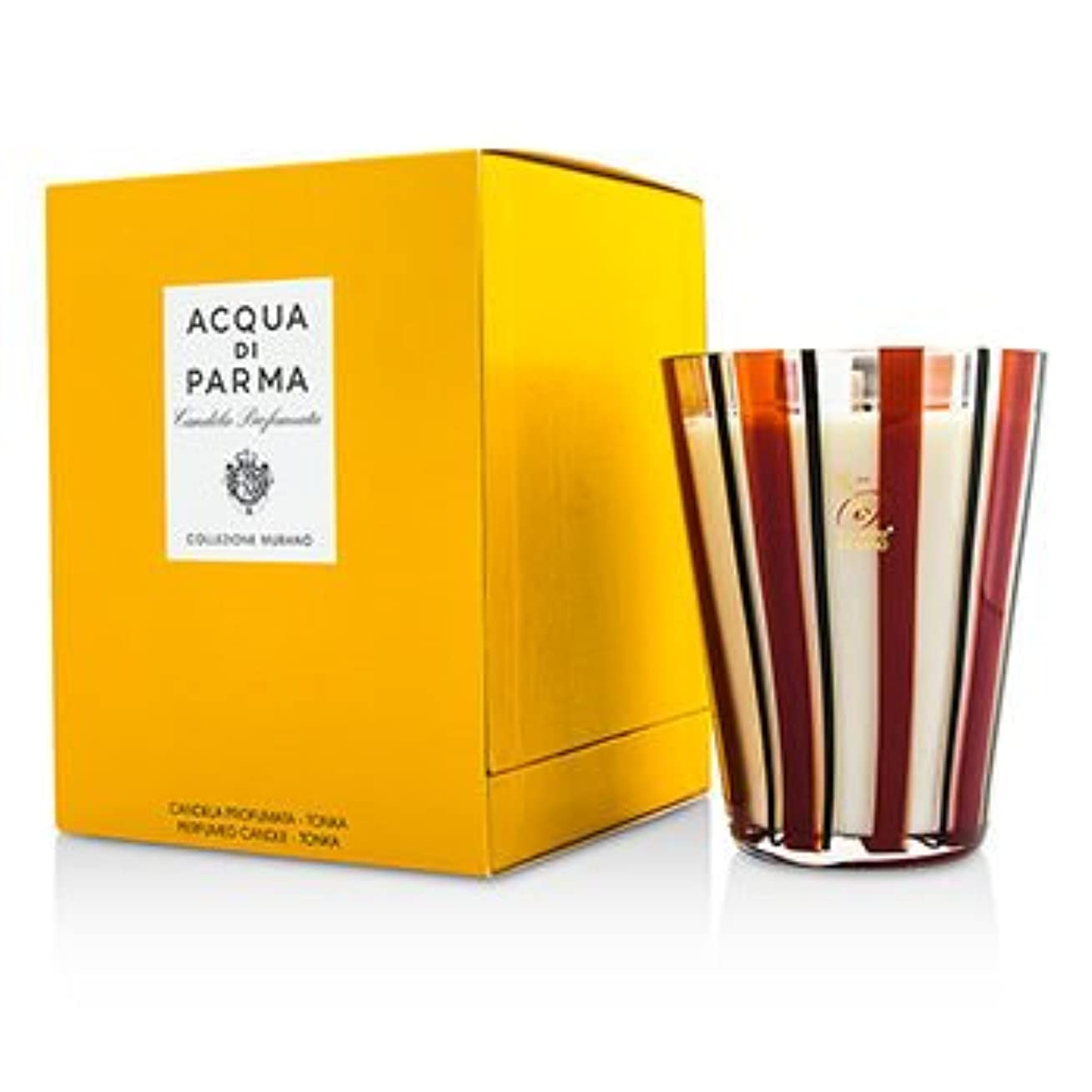 鷲チャレンジ運営[Acqua Di Parma] Murano Glass Perfumed Candle - Tonka 200g/7.05oz