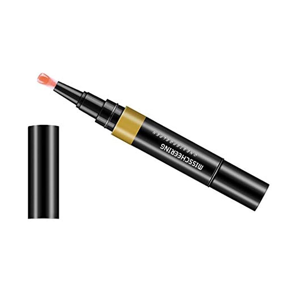 日光奨励ちなみにToygogo ジェル マニキュアペン ワニスラッカー ネイルアートペン 3 イン 1 サロン 初心者 セルフネイル DIY - フレッシュピンク