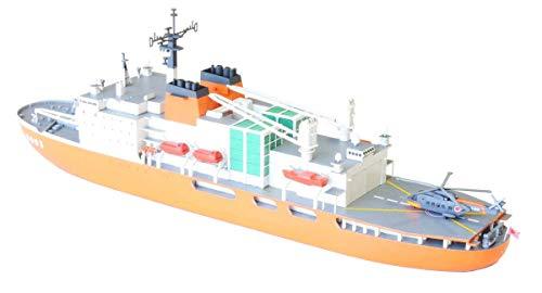 フォーサイト 1/700 海上自衛隊 砕氷艦しらせ AGB5003 メタル製雪上車付 プラモデル SHO1801 (メーカー初回受注限定生産)