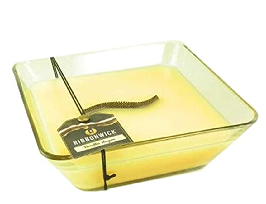 厳密にトランジスタマーティフィールディング1 xバニラ砂糖装飾ガラス – RibbonWick Scented Candle