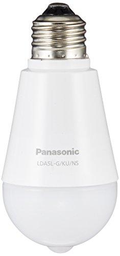パナソニック LED電球 E26口金 電球40形相当 電球色相当(5.0W) 一般電球・ひとセンサタイプ LDA5LGKUNS