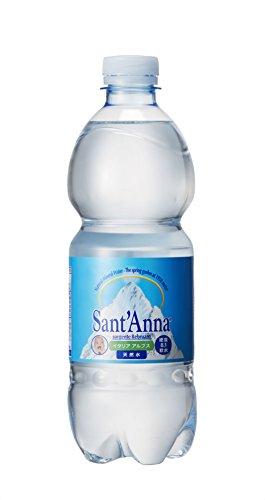 サンタンナ イタリアアルプス 天然水 500ml×24本