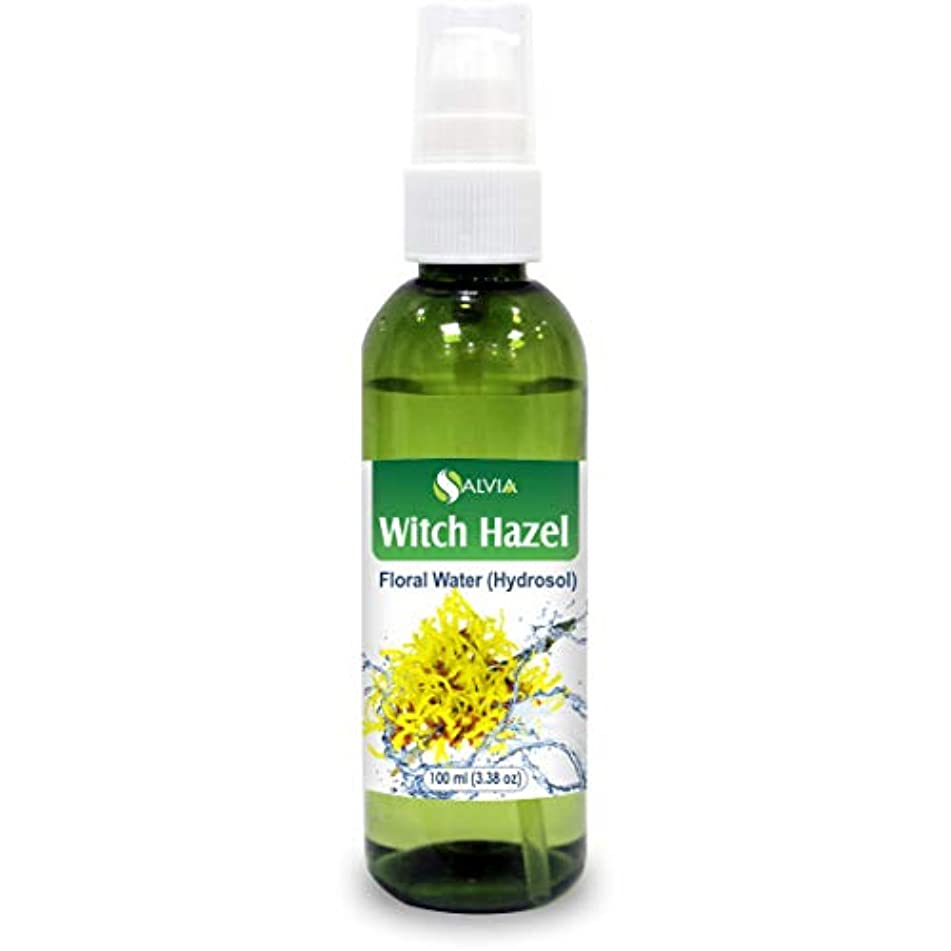 ビルダーアシスト継承Witch Hazel Floral Water 100ml (Hydrosol) 100% Pure And Natural