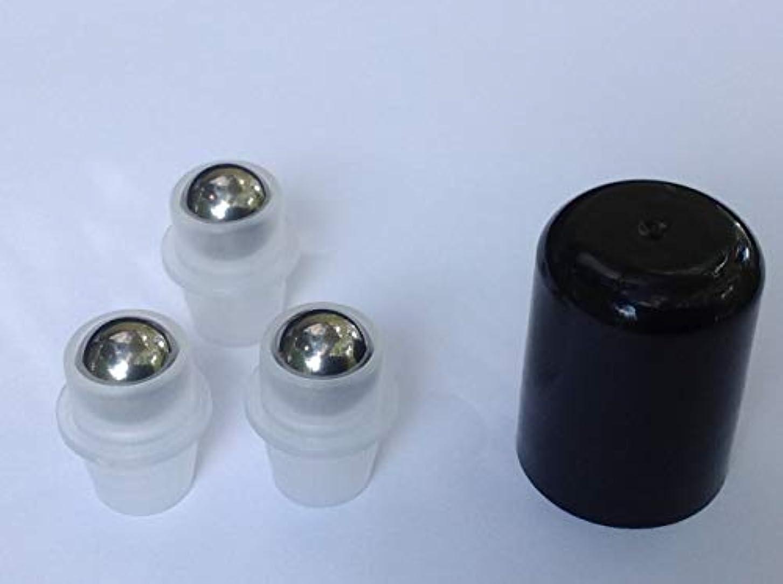 悲観的日六分儀12 STAINLESS STEEL Roller Ball/Roll On Inserts for 5ml and 15ml Amber doTERRA and Young Living Bottles