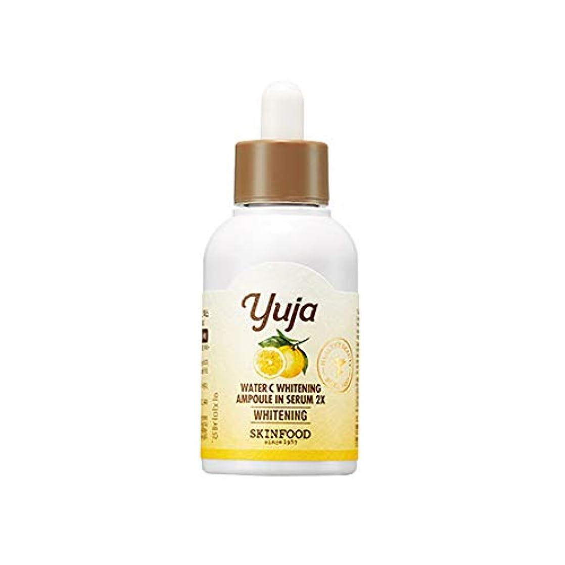 茎無許可不健康Skinfood Yuja Water C Whitening Ampoule In Serum 2X/50ml [並行輸入品]