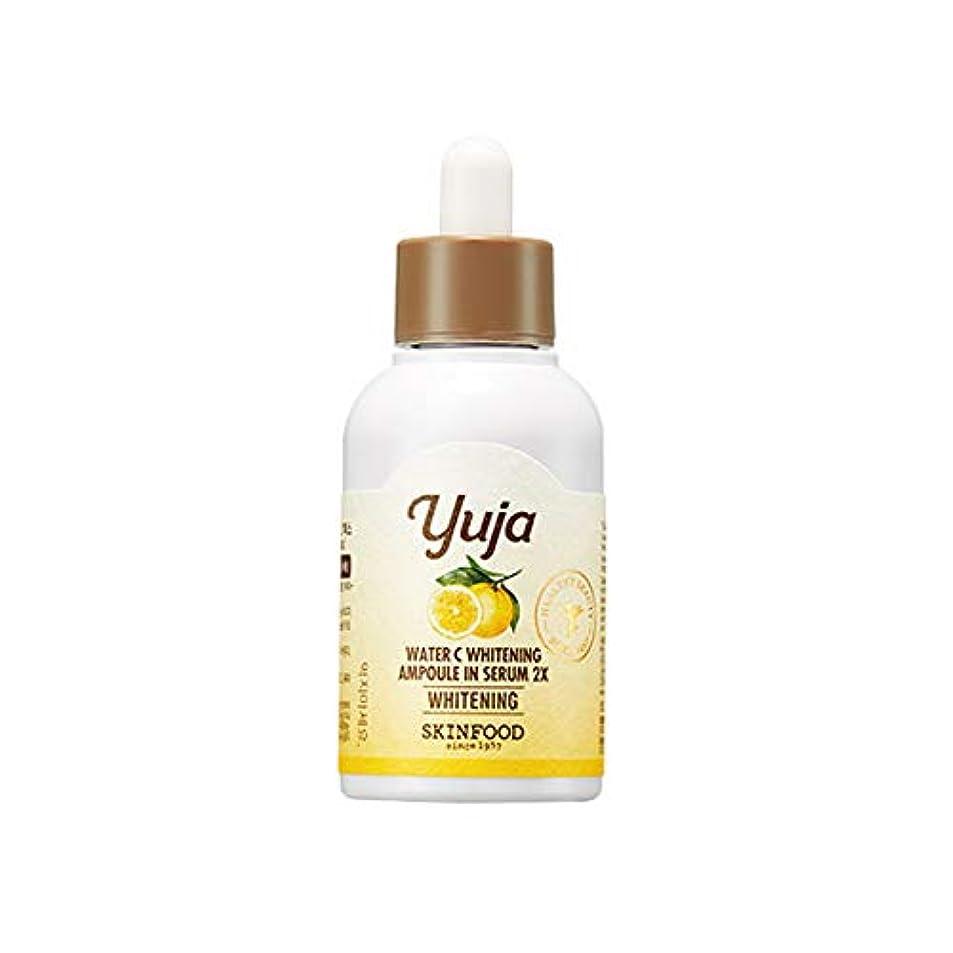 温度気分が良いリスナーSkinfood Yuja Water C Whitening Ampoule In Serum 2X/50ml [並行輸入品]