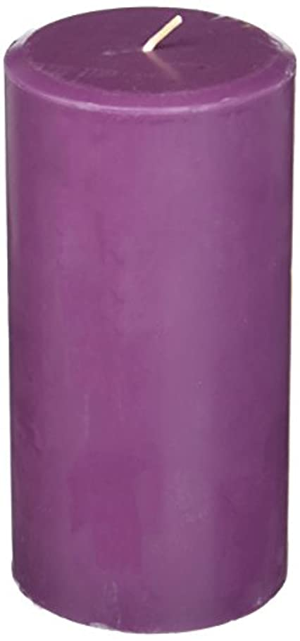 スペードこれらマングルNorthern Lights Candles Plum Orchid &ダリアFragranceパレットPillar Candle、3 x 6